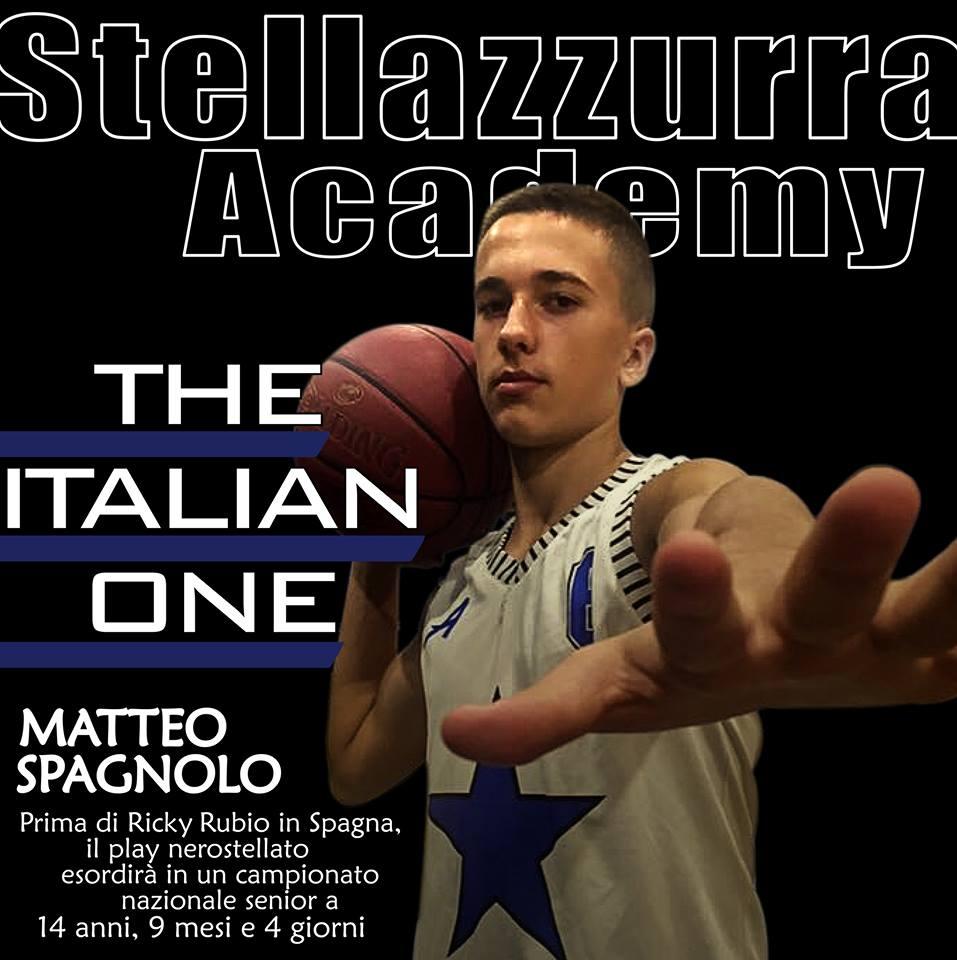 A 14 anni il play brindisino matteo spagnolo stella azzurra roma esordir in un campionato - Anni mesi giorni gemelli diversi ...