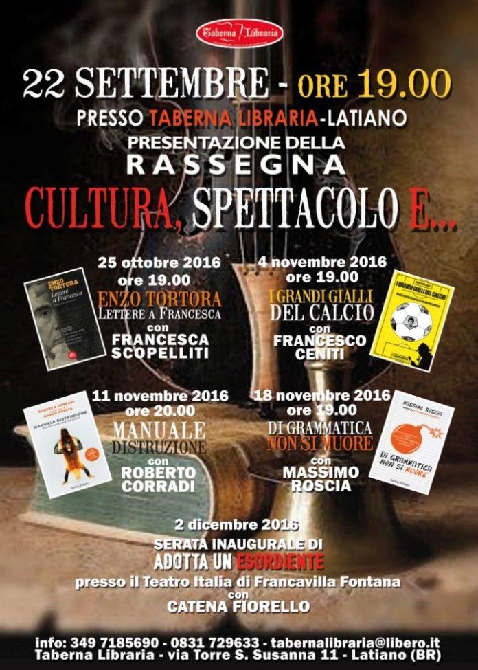 locandina taberna libraria latiano