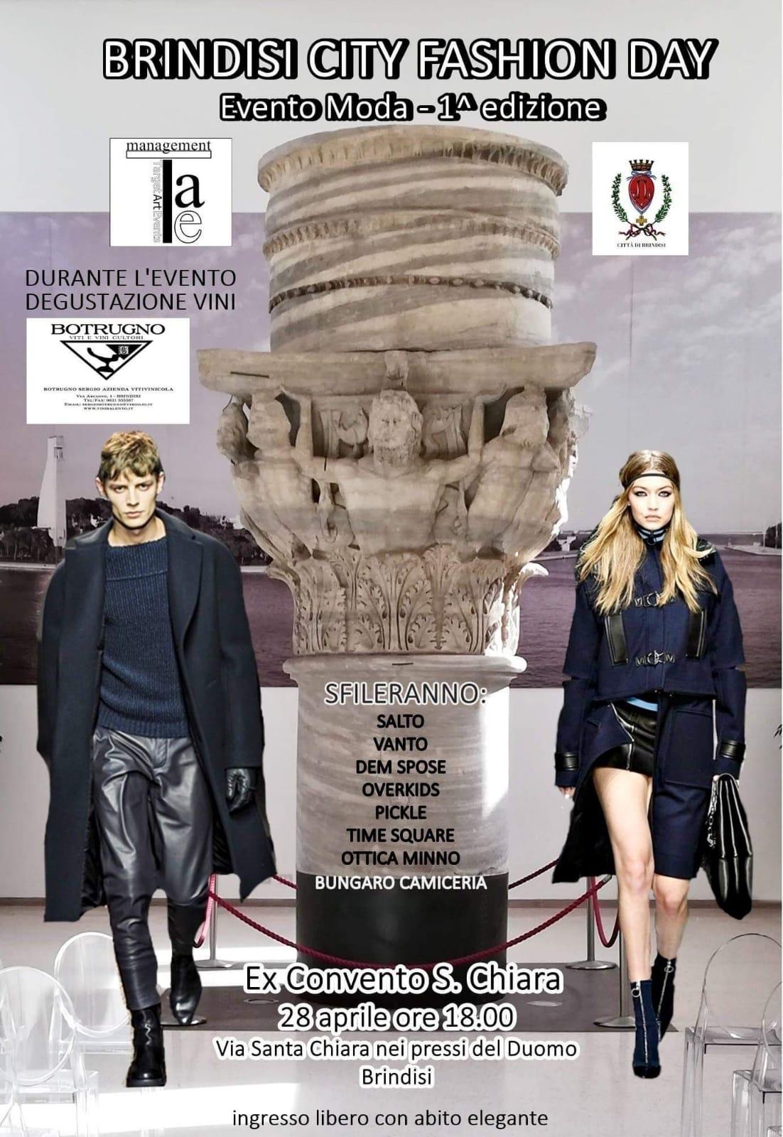 – Domenica Brindisi Fashion Edizione Aprile City Day 1 2019New 28 MVqzUpGS
